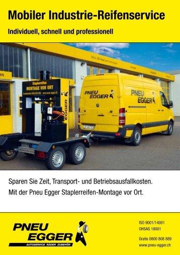 Mobiler Industrie-Reifenservice - Pneu Egger