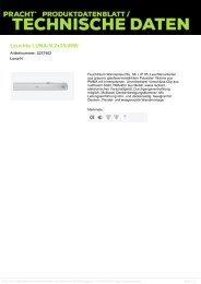 Leuchte LUNA-N 2x35/49W - Pracht