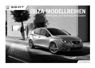 Ibiza Preisliste und technische Daten - Autohaus Bohnes