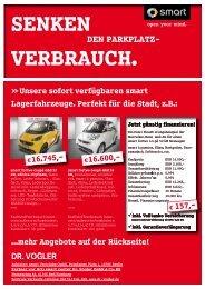 DEN PARKPLATZ- DEN PARKPLATZ- - Dr. Vogler GmbH & Co. KG