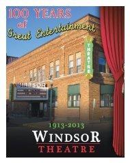 Windsor Theatre 100 Year Anniversary - Hampton Chronicle