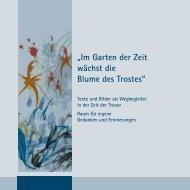 PDF- Trauerbroschuere - Förderverein Hospiz Ettlingen eV