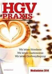 Mediadaten 2014 als PDF-Download - HGV Praxis