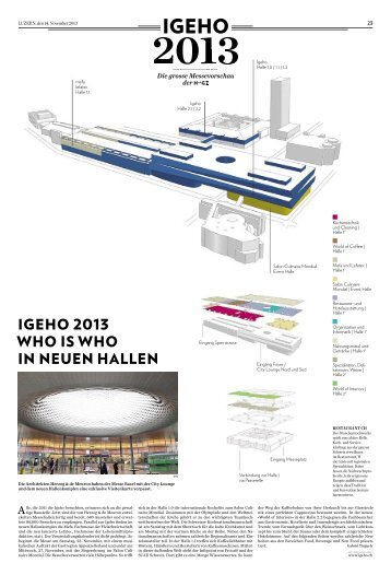 Igeho 2013 - Hotel & Gastro Union