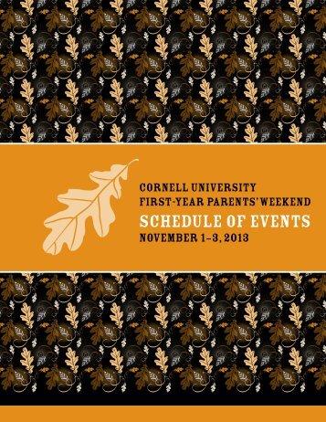Cornell University Programming - Cornell School of Hotel ...