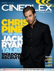Cineplex Magazine January2014