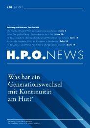 Download H.P.O. NEWS als PDF