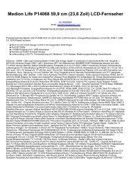 Medion Life P14068 59 9 cm (23 6 Zoll) Lcd-Fernseher