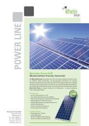 DB Rhein Solar 195M - bei HR Controls