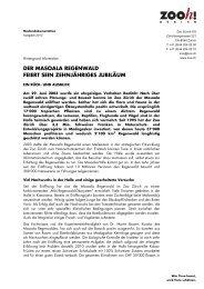 Hintergrundinformation [PDF, 72.0 KB] - Zoo Zürich
