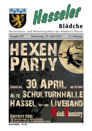 Ausgabe 287 - Hassel-saar.de