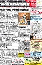 Ausgabe C Mainz-Kostheim, Mainz-Kastel - Wochenblick