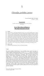 Filozofija, politika i pravo