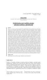 Globalizacija, moć i politika znanja: jedanaest antiteza o globalizaciji