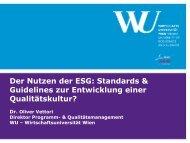 hin zu einer Qualitätskultur an deutschen Hochschulen - HRK nexus