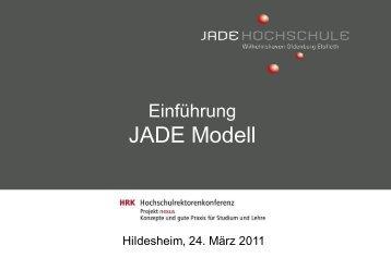 das JADE Modell - HRK nexus
