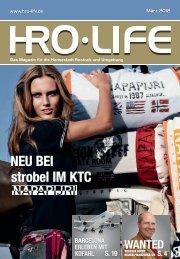 NEU BEI strobel IM KTC - HRO·LIFE - Das Magazin für die ...
