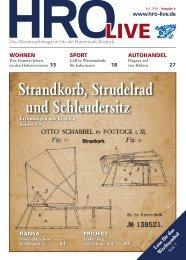 am 03. Juli 2008 - HRO·LIFE - Das Magazin für die Hansestadt ...