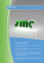 Prospekt smcOLAP - SMC Software GmbH