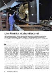Mehr Flexibilität mit einem Flextunnel - Van Der Velden Marine
