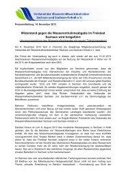 Pressemitteilung zum Download (PDF) - Verband der ...