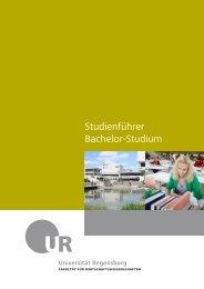 Studienführer Bachelor-Studium - Wirtschaftswissenschaftliche ...