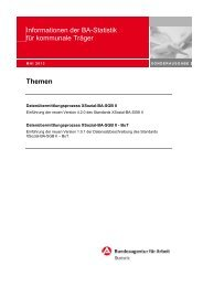 zkT-Info-Brief; 16. Ausgabe - Statistik der Bundesagentur für Arbeit