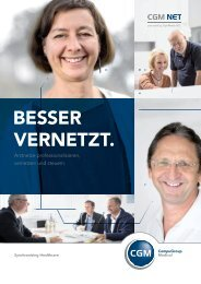 BESSER VERNETZT. - CompuGroup Medical