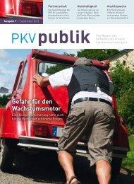 Gefahr für den Wachstumsmotor - PKV - Verband der privaten ...