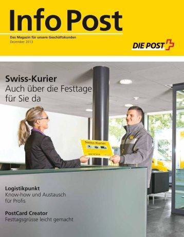 Info Post Dezember 2013 - Die Post