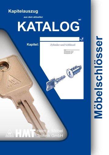 Zylinder und Schlüssel - Huwil