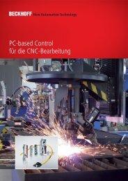 PC-based Control für die CNC-Bearbeitung - download - Beckhoff