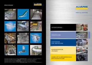 Fördertechnik - Alváris Profile Systems