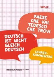 Zum Lehrerkommentar - EURAC