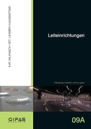 Hauptkatalog Leiteinrichtungen - GIFAS-ELECTRIC GmbH