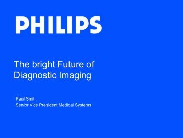 The bright Future of Diagnostic Imaging