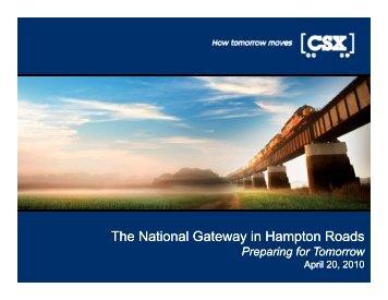 The National Gateway in Hampton Roads
