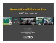 ITS Strategic Plan - Hampton Roads Transportation Planning ...