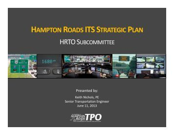 ITS Strategic Plan - Hampton Roads Transportation Planning ...