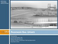 passenger rail update - Hampton Roads Transportation Planning ...