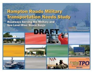 Hampton Roads Military Transportation Needs Study Hampton ...