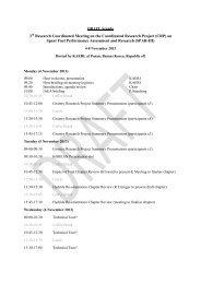 Draft Meeting agenda RCM3