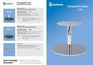 Tischgestelle XXL - Franz Giesselmann Metallwaren GmbH & Co. KG