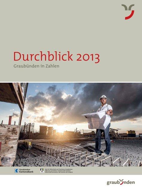 Durchblick 2013 - Graubündner Kantonalbank