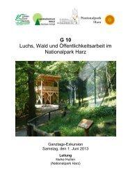 G10 - Deutscher Forstverein