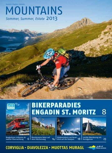 Mountains Magazin - Engadin St. Moritz