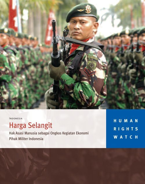 Harga Selangit Human Rights Watch