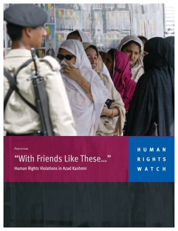 """""""With Friends Like These…"""" - Human Rights Watch"""