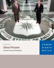 Ghost Prisoner - Human Rights Watch