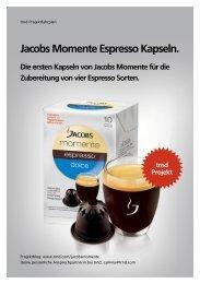 Jacobs Momente Espresso Kapseln. - trndload